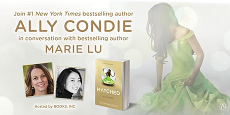 YA @ Books Inc Presents ALLY CONDIE in Conversation with Marie Lu tickets