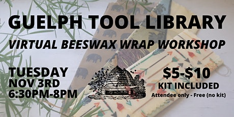 Virtual Beeswax Wrap Workshop tickets