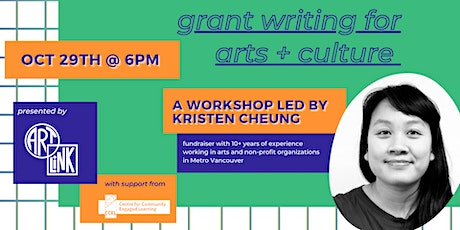 Grant Writing for Arts + Culture tickets