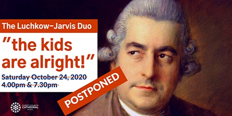 """Christ Church Cathedral and the Luchkow-Jarvis Duo: """"The kids are alright"""" tickets"""