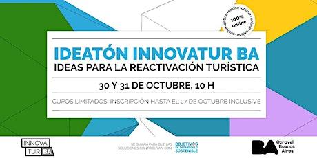 "Ideatón InnovaTur BA 2020 ""Ideas para la reactivación turística"" entradas"