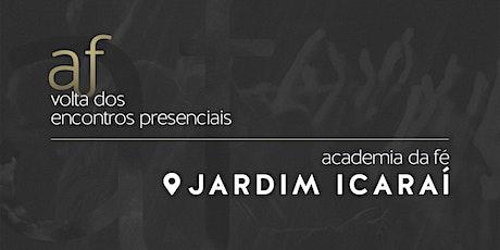 Jardim Icaraí | Domingo, 25/10, às 09h ingressos