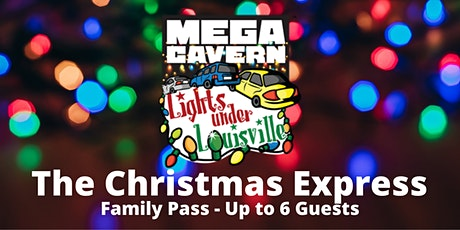 The Christmas Express Family Pass - Up to 6 Seats tickets