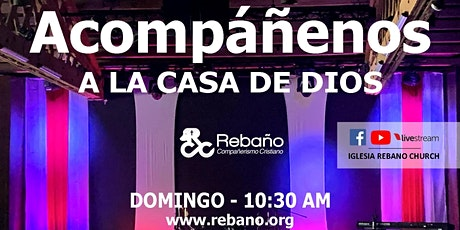 Servicio del Domingo 10/25/20 tickets