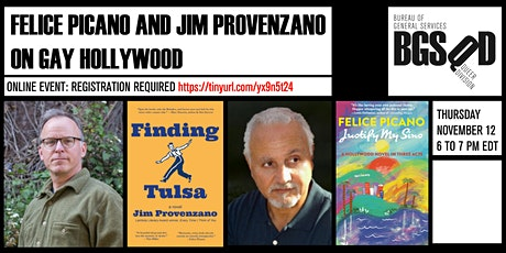 Felice Picano and Jim Provenzano on Gay Hollywood tickets