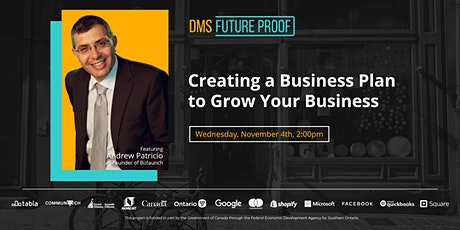 Creating a Business Plan to Grow Your Business tickets
