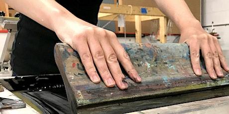 Screen Printing Workshop: Private Training @ Artisan's [November 2020]