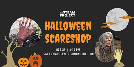 Halloween Scareshop tickets