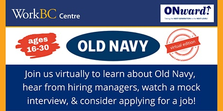 ONward! Old Navy Info Session tickets