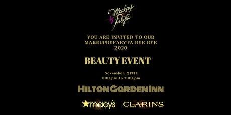 MAKEUPBYFABYTA Bye Bye 2020 Beauty Event tickets