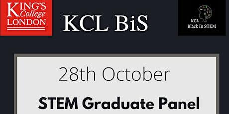 KCL Black In Stem - Graduate Panel tickets
