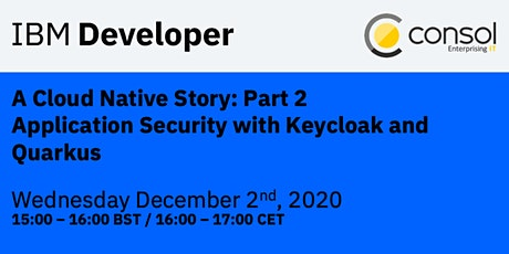 A Cloud Native Story: Part 2 - Application Security with Keycloak & Quarkus tickets