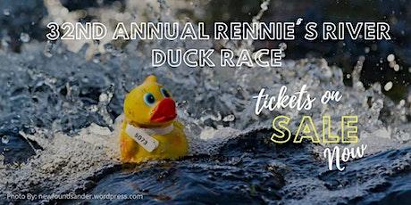 32nd Annual Rennie's River Duck Race tickets