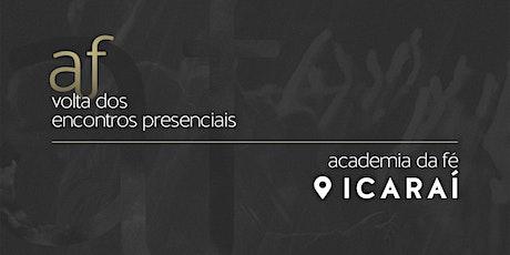Icaraí | Domingo, 25/10, às 18h30 ingressos
