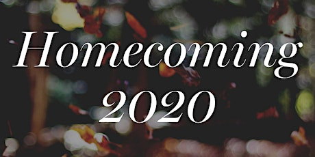 BCHS homecoming 2020 tickets