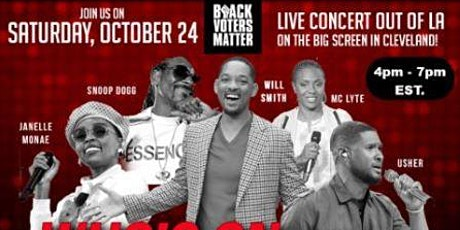 Black Voters Matter  presents  LIVE VIRTUAL CONCERT (LA in Cleveland) tickets