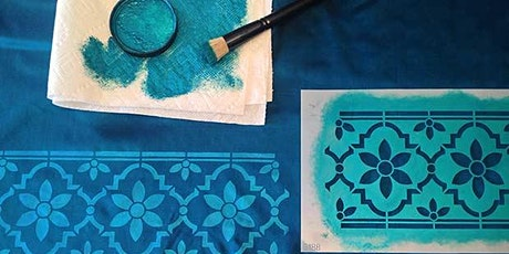 Stenciling And Painting On Fabric tickets