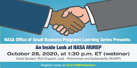 OSBP Learning Series: An Inside Look at NASA MUREP tickets