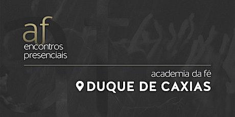 Caxias | Domingo, 25/10, às 18h30 ingressos