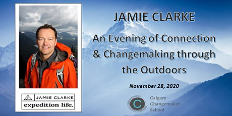 Jamie Clarke: An Evening of Connection & Changemaking through the Outdoors tickets