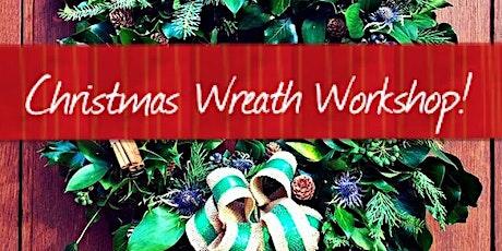 Christmas2020 Wreath Workshop (online & interactive!) £49.50 tickets