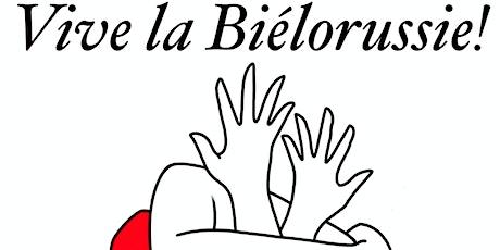 VIVE LA BIÉLORUSSIE ! Vernissage Exposition caritative billets