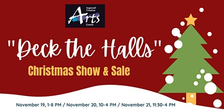 """Deck the Halls"" Artist and Maker Sale tickets"