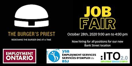 The Burger's Priest Job Fair tickets