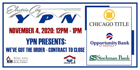 YPN Presents: We've Got the Order - Contract to Close tickets