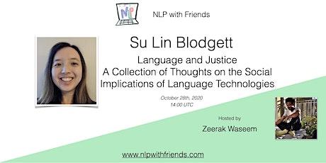 NLP With Friends, featured friend: Su Lin Blodgett tickets