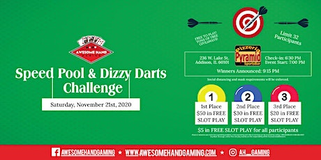 Speed Pool & Dizzy Darts Challenge tickets