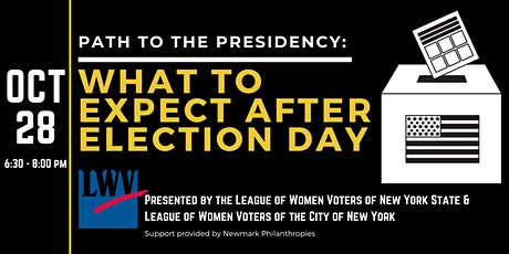 Path to the Presidency: What to Expect After Election Day tickets