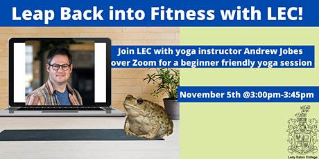 Leap Back into Fitness - Yoga session with LEC tickets