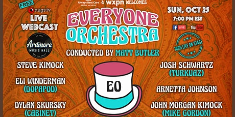 Everyone Orchestra ft. Steve Kimock, Dopapod members,  & More! Live Webcast tickets
