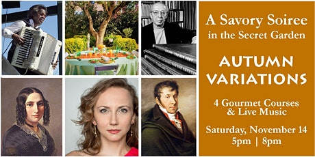 "Savory Soiree in the Secret Garden – ""Autumn Variations"" tickets"