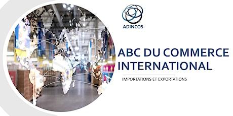 ABC du Commerce International (Importation et Exportation) tickets