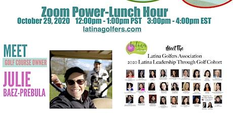 Meet Latinx Golf Course Owner & 2020 Latina Leadership Through Golf Cohort tickets