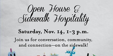 Open House and Sidewalk Hospitality tickets