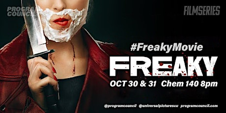 Universal Pictures &Program Council Present an Advanced Screening: 'Freaky' tickets