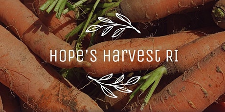 Gleaning Trip with Hope's Harvest RI Thursday, October 29th 10 - 1PM tickets