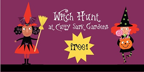Witch Hunt on Cutty Sark Gardens Greenwich tickets