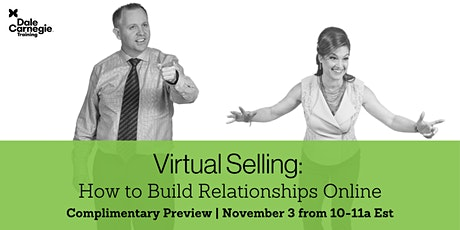 Virtual Selling - Live Online Preview Meeting tickets