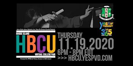 RI HBCU Virtual College Fair tickets
