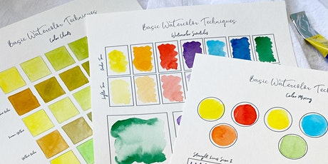 Introduction to Watercolor and Abstract tickets