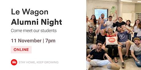 Alumni Night | Meet our Alumni and Team! | Le Wagon Rio bilhetes