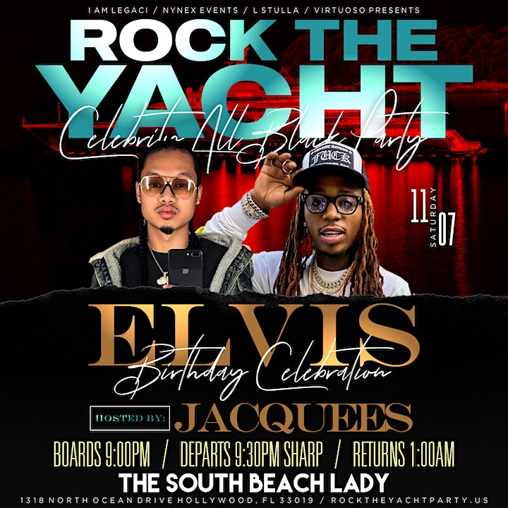 ROCK THE YACHT Celebrity All Black Party Hosted by image