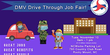NCDOT DMV HQ Veterans Job Fair tickets