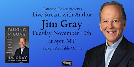 Live Stream with Jim Gray tickets