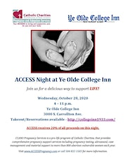ACCESS Night at Ye Olde College Inn tickets