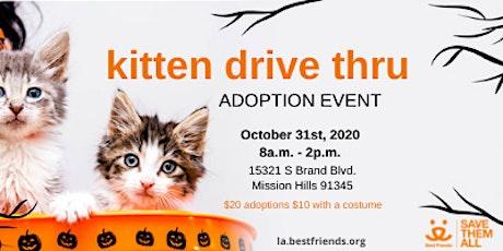 Kitten Drive-Thru Adoption Event tickets